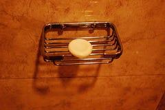 Seifen-Kuchen auf Seifen-Stand Lizenzfreie Stockfotografie