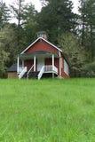Seifen-Nebenfluss-Schulhaus nahe Corvallis, Oregon 6 stockfoto