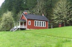 Seifen-Nebenfluss-Schulhaus nahe Corvallis, Oregon 5 stockfotografie