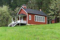 Seifen-Nebenfluss-Schulhaus nahe Corvallis, Oregon 4 stockfotos