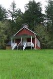 Seifen-Nebenfluss-Schulhaus nahe Corvallis, Oregon 1 lizenzfreies stockfoto