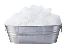 Seifen-Seifenlauge und Luftblasen Lizenzfreies Stockfoto