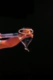 Seifenblasen Kunst - burbujas del arte en etapa Fotos de archivo