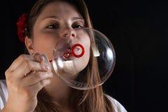 Seifenblasen und Träume Lizenzfreie Stockfotografie