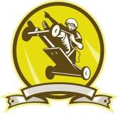 Seifenkasten Derby-Autospringen stock abbildung