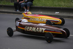 Seifenkistenderby (soap box derby) Royalty Free Stock Image