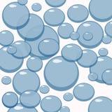 Seifenluftblasen stock abbildung