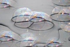 Seifenluftblasen Stockbild