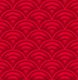 Seigaiha seamless pattern Stock Photo