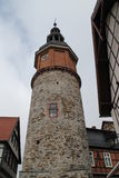 The seiger tower. In Stolberg Stock Photo