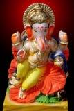 Seigneur coloré Ganesha Model Photo stock