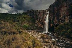 Seigneur de la cascade d'anneaux, Nouvelle-Zélande photos stock