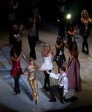 Seigneur des interprètes de danse Photo stock
