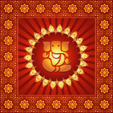 Seigneur Ganesha illustration libre de droits