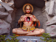 Seigneur hanuman Image stock