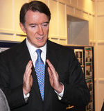 Seigneur Peter Mandelson Photographie stock