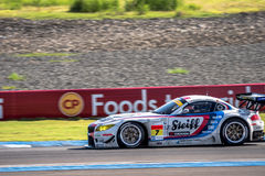 Seiji Ara of BMW Sports Trophy Team Studie in GT300 Qualiflying Stock Images