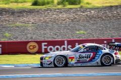 Seiji Ara of BMW Sports Trophy Team Studie in GT300 Qualiflying Stock Images