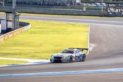 Seiji Ara of BMW Sports Trophy Team Studie in GT300 Qualiflying Royalty Free Stock Photo