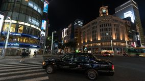 Seiko Clock Tower dans le secteur de Ginza à Tokyo, Japon images libres de droits