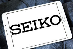 Seiko logo Royalty Free Stock Image