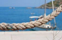 Seil, Abzuglinie Lizenzfreie Stockfotografie