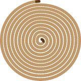 Seil angeordnet in einem Kreis Stockfotos