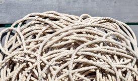 Seil auf dem Boot Lizenzfreie Stockfotografie