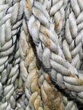 Seil-Beschaffenheit Lizenzfreie Stockfotos