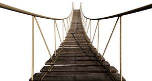 Seil-Brücken-Abschluss oben vektor abbildung