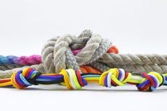 Seil, Knoten stockbilder