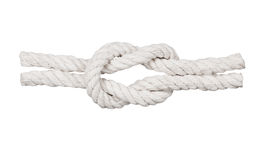 Seil mit Knoten, Stockfotografie