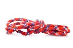 Seil mit Knoten Stockbild