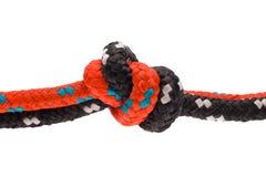 Seil mit knoten - silnego Fotografia Stock