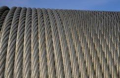 Seil mit sechs Strängen (Seil mit 6 Strängen) Stockfotografie