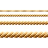 Seil. Nahtloser Vektor. Stockbilder