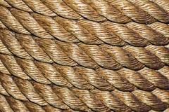Seil - sauber und organisiert Stockbild
