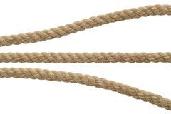 Seil-Teile stockbild
