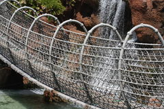 Seilaufhebungbrücke Stockbild