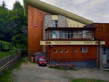 Seilbahnstation in Sinaia, Rumänien Lizenzfreie Stockfotografie