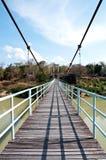 Seilbrücke Kangtana im Nationalpark Lizenzfreie Stockfotos
