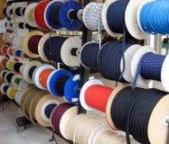 Seile für Lieferungen Lizenzfreies Stockfoto