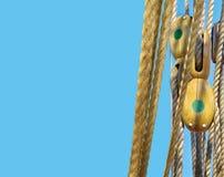 Seile und Takelung Lizenzfreie Stockfotos