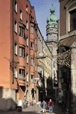 Seilergasse Street in Innsbruck Stock Photography