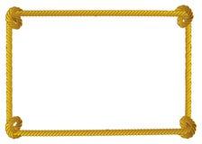 Seilgrenze stockbild