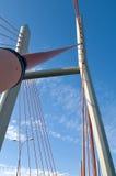 Seilhängebrücke Lizenzfreies Stockbild