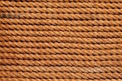 Seilhintergrund Stockbild