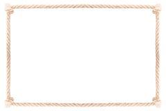 Seilrahmenknoten stockfotografie