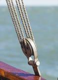 Seilrolle stockfotos