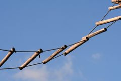 Seilstrichleiter Stockfotos